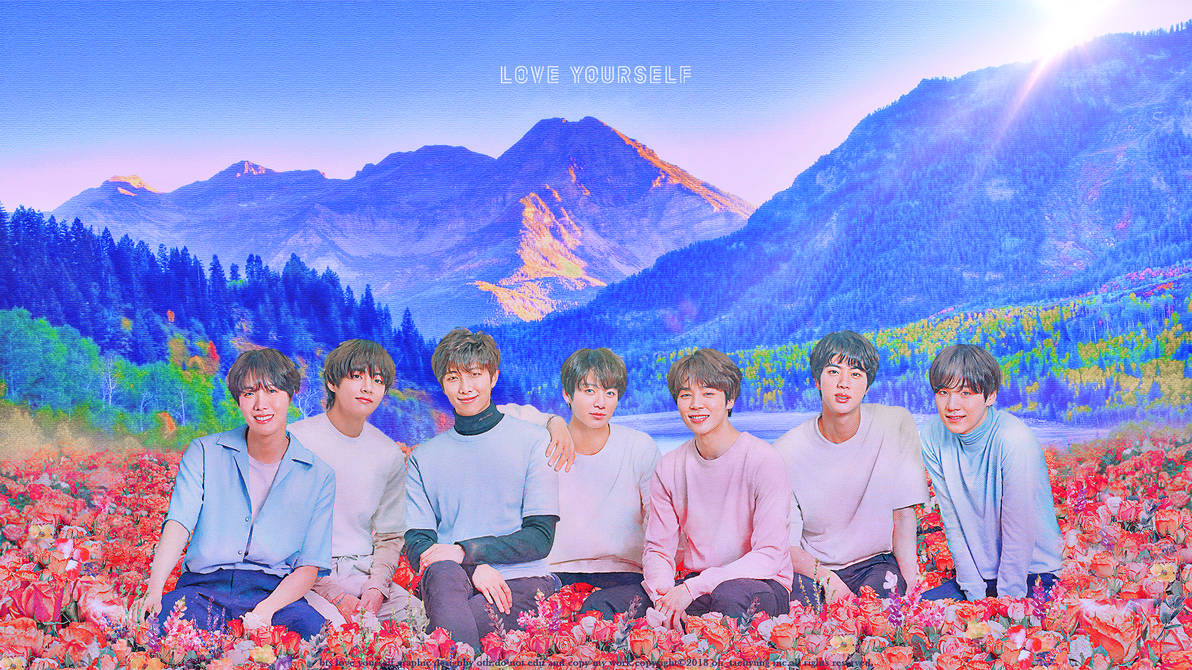 bts love yourself wallpaper by siguo dca5dbt