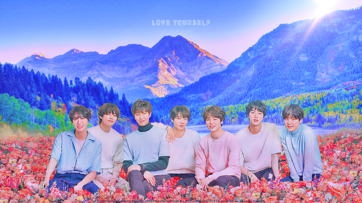 Bts Love Yourself Wallpaper For Laptop Labzada Wallpaper