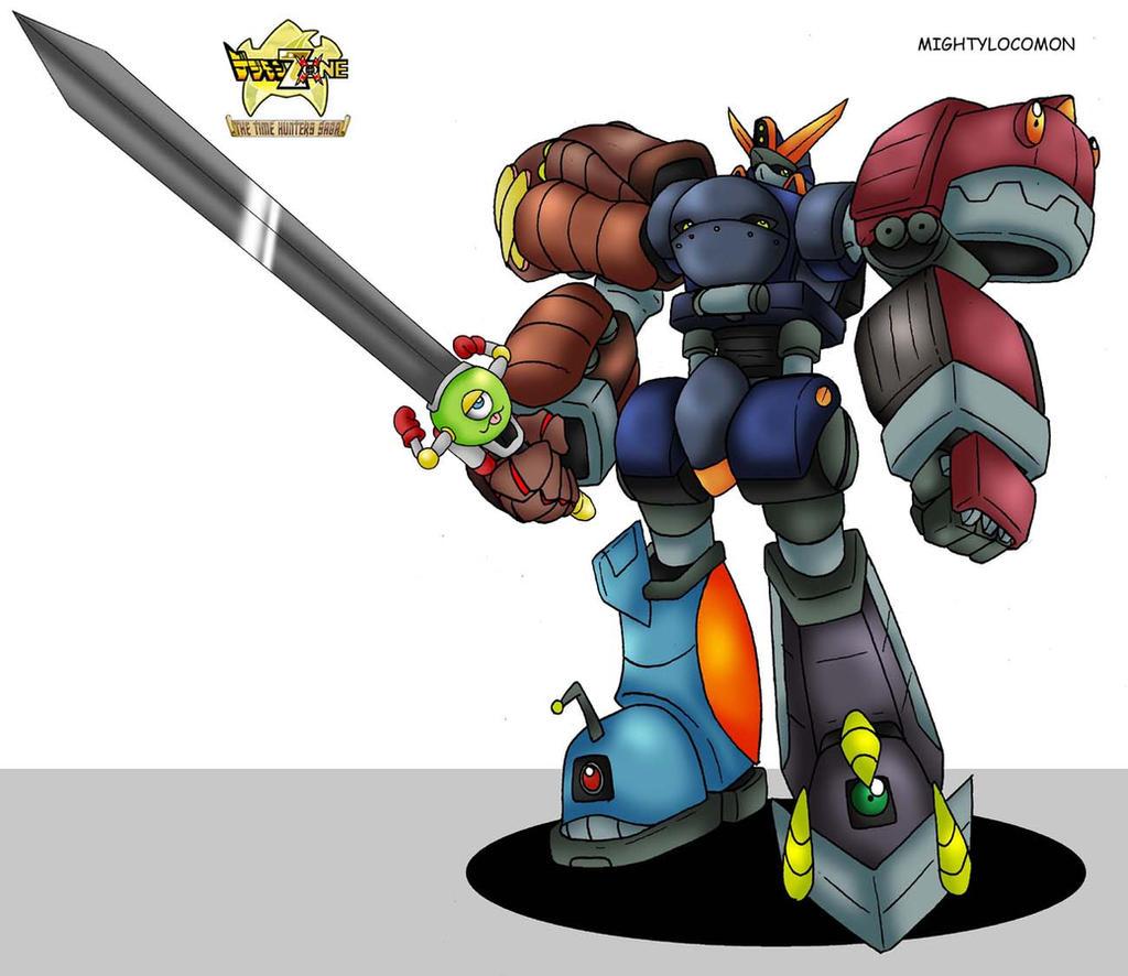 Digimon Frontier Rhinokabuterimon LET S DIGI MIGHT GAINE   plus