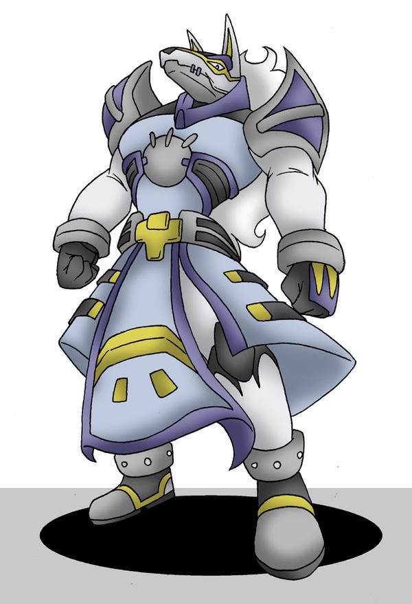 Digimon Frontier Rhinokabuterimon MASTERGarurumon by techan