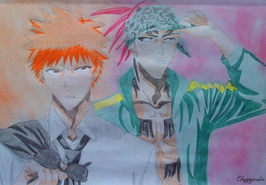 2 Hot Guys || Ichigo and Renji by TaichouKuchiki