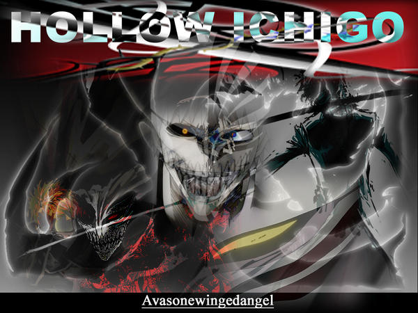 hollow ichigo wallpaper. hollow ichigo wallpaper by