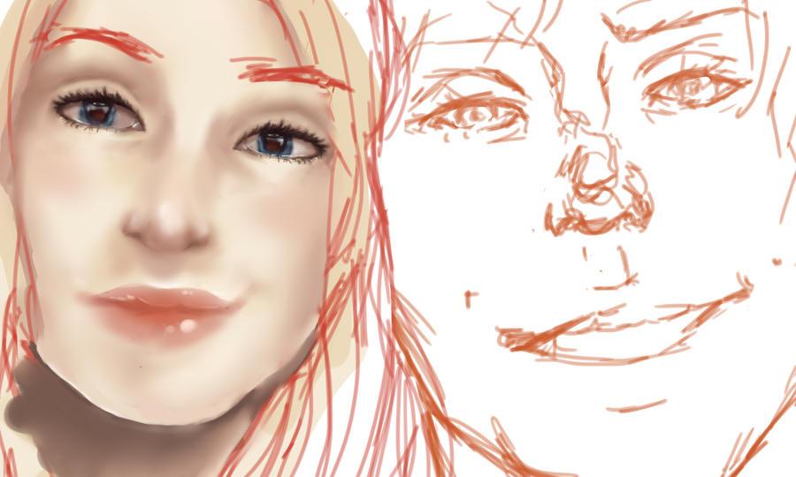 Mira and Mars... WIP by Beere-Jade