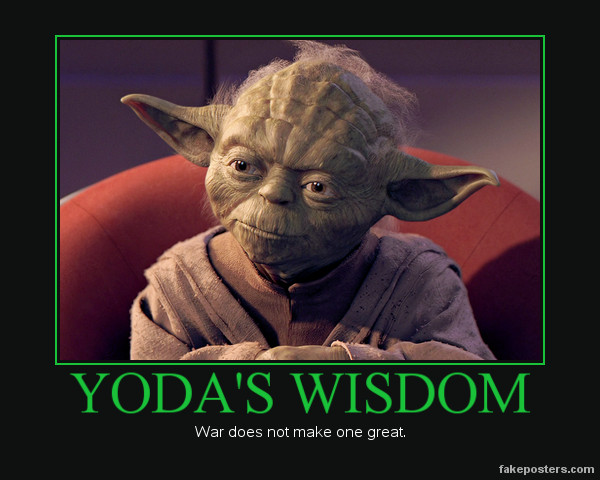 Yoda's Wisdom by Trotsky17 on deviantART