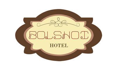 Logotipo Hotel Bolshoi| Myrdesign