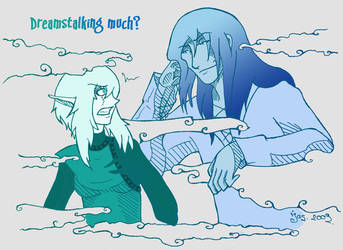 Dreamstalking by JC-Blade