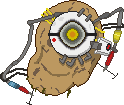 Pixel Potato GLaDOS by Felix-KoT