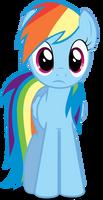 Rainbow Dash in perplexity
