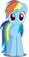 Rainbow Dash in perplexity