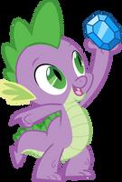 Spike and diamond by Felix-KoT