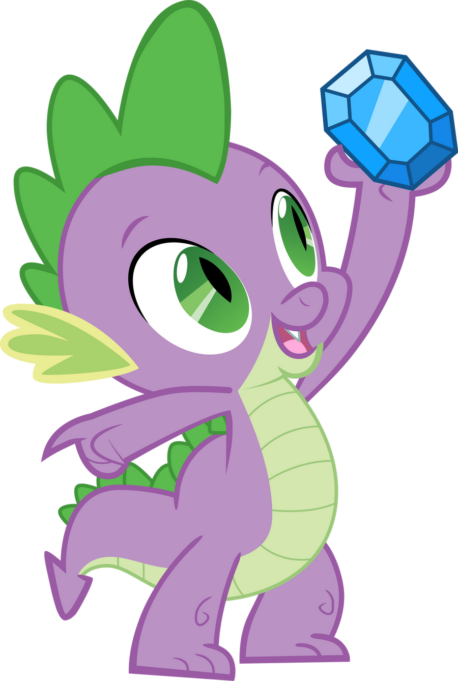 Spike and diamond