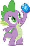 Spike and diamond