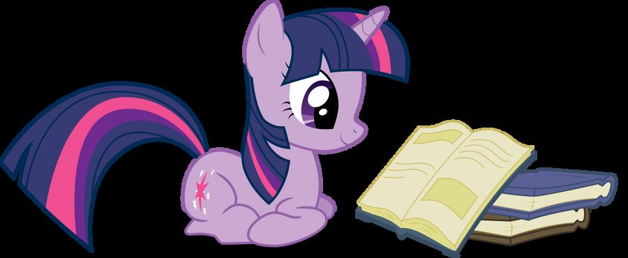 Twilight reads books by Felix-KoT
