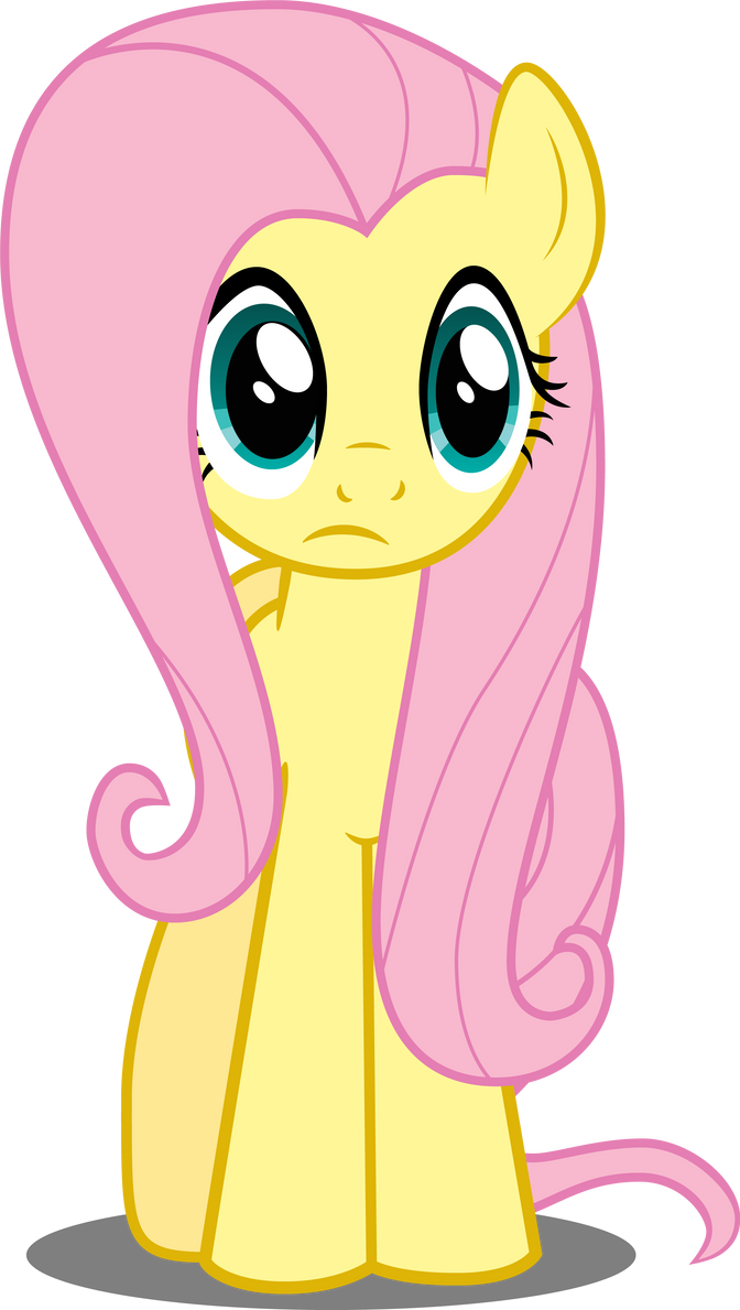 Fluttershy in perplexity by Felix-KoT