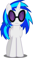 Vinyl Scratch in perplexity