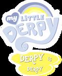 My Little Derpy Logo