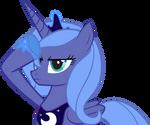 Saluting Luna