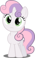 Sweetie Belle in perplexity