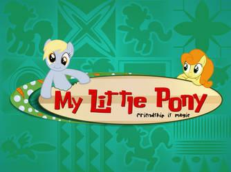 Lilo and Stitch Ponified logo by Felix-KoT