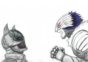 Damian Wayne aka Batman VS his half-demon son
