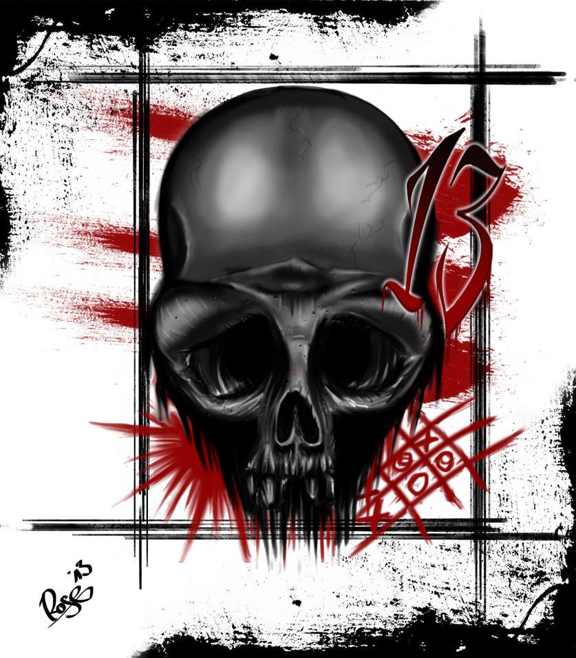 TRash Polka Skull by McRDesign