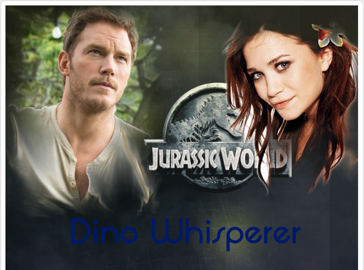 Dino Whisperer cover page by wolfdemongirl13