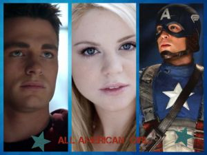 All American Girl Cover Page by wolfdemongirl13