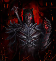 Dremora lord by Ja1ine