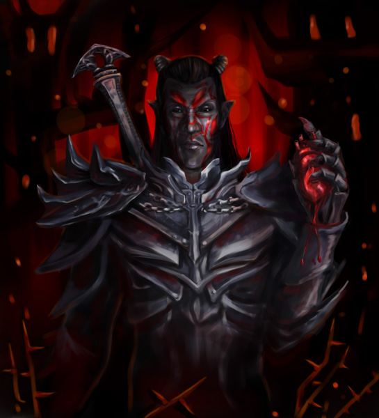 Dremora lord by Ja1ine