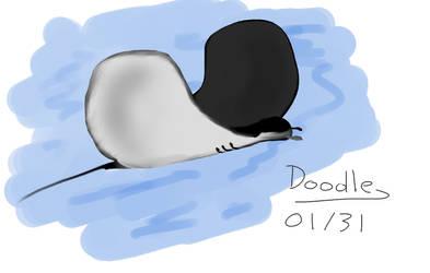 Daily Doodle 01.31: Manta