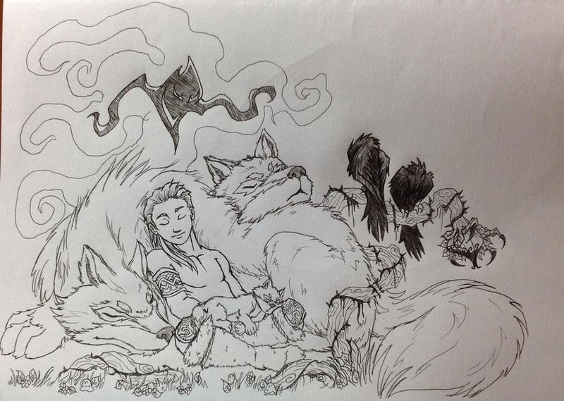 Diablo 2: Young Druid by Multifreak99