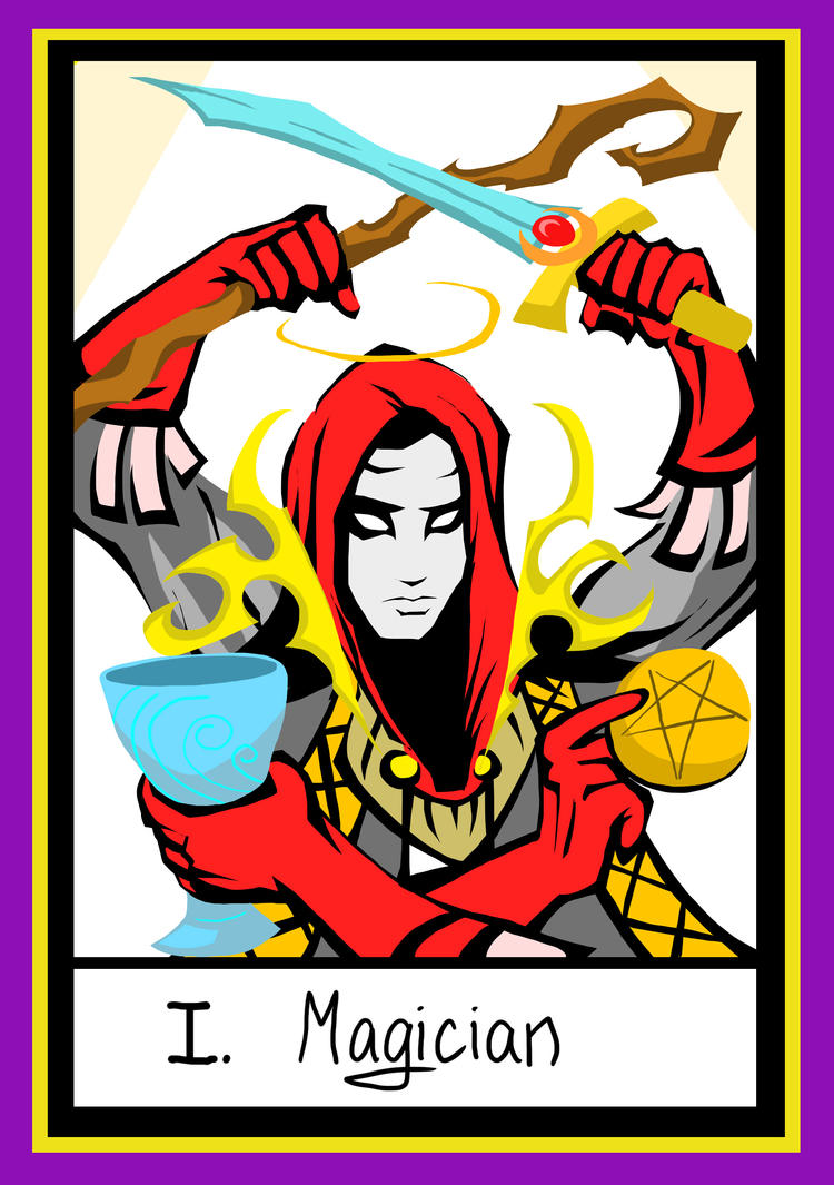 Tarot: Magician by Multifreak99