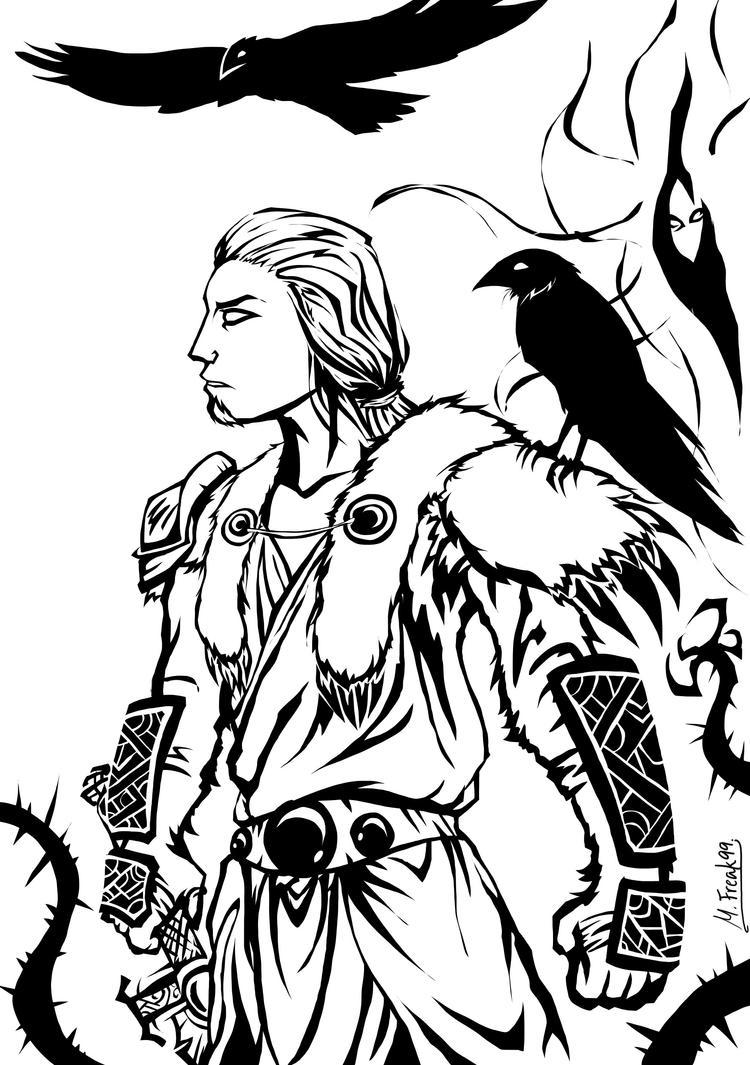 Diablo 2: Druid by Multifreak99
