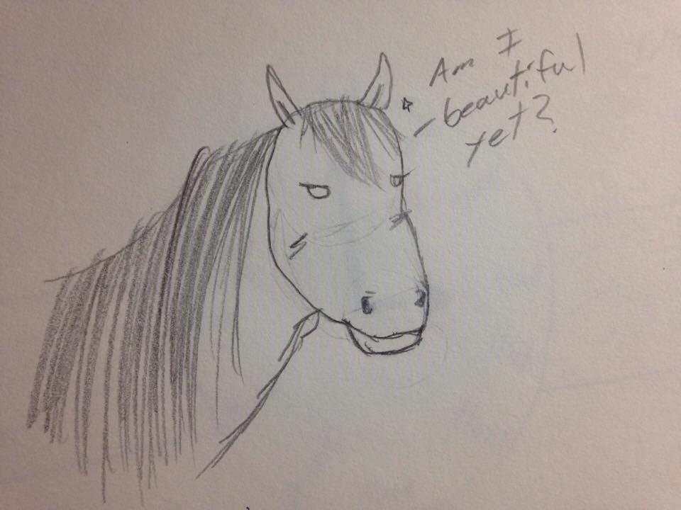 Glorious Horse by BlueMoonSamurai