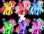 Glitter Mane Ponies Adoptables CLOSED