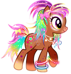 Pony Ganguro Adoptable CLOSED