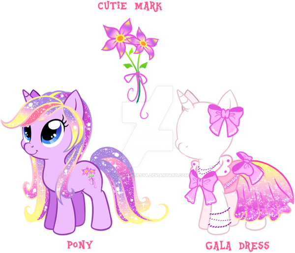 Pony Adoptable Gala Dress Cutie Mark 1 Close By