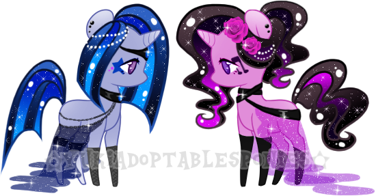 Surprise Adoptables Ponies for blacksapphire by KingPhantasya