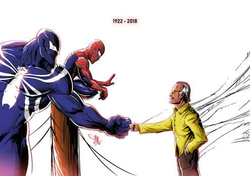Stan Lee [1922-2018] by beyond9thousand