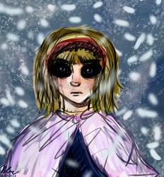 Alice Sketch by bluealiceroses93