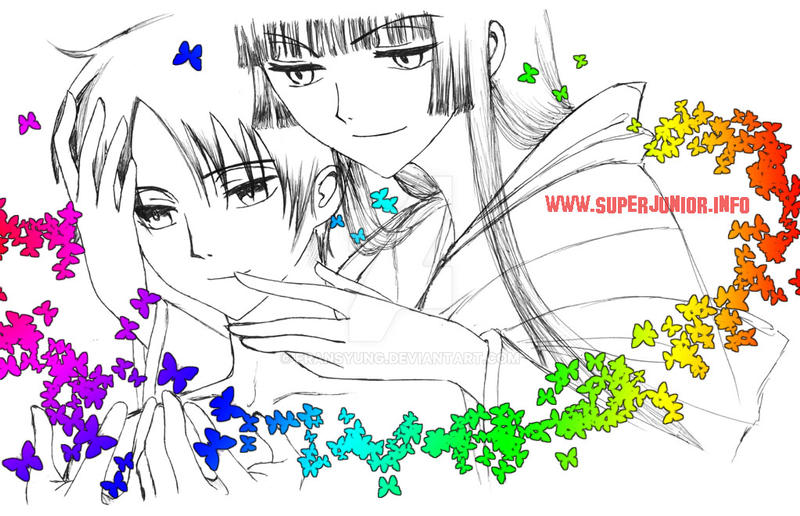 xxxHoLiC Yuuko and Watanuki 3 by fransyung