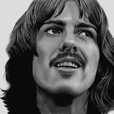 George Harrison by PamelaKaye