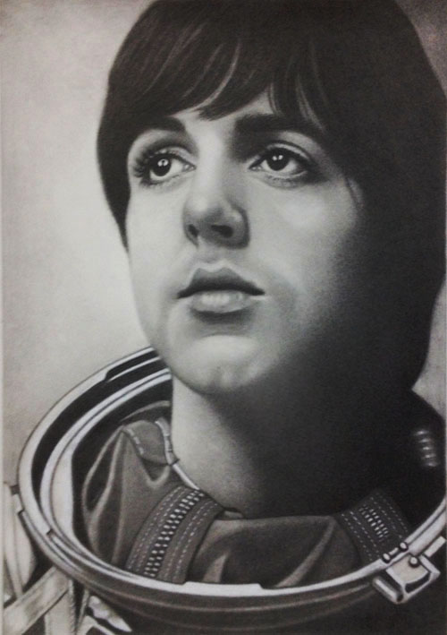 Paul McCartney by PamelaKaye
