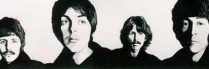 The Beatles by PamelaKaye