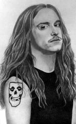 Cliff Burton-Metallica by PamelaKaye