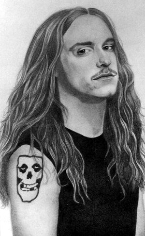 Cliff Burton Metallica By Pamelakaye On Deviantart