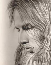 David Gilmour--Pink Floyd by PamelaKaye
