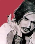 Johnny Depp--Red