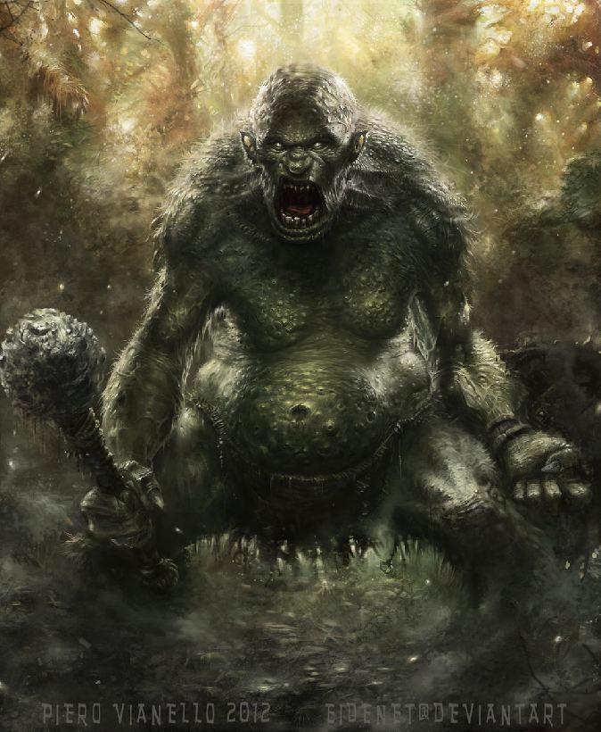 Jungle Troll by Eidenet