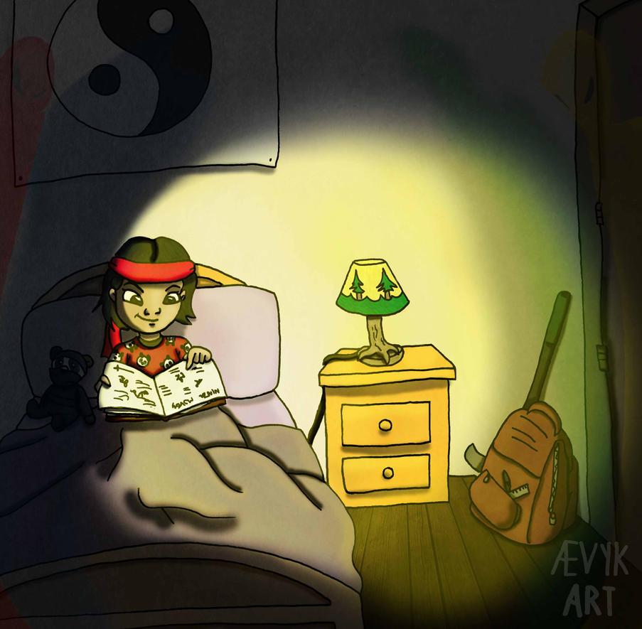 Sally Shin by Aeviking